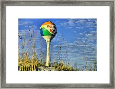 Pensacola Beach Days Framed Print