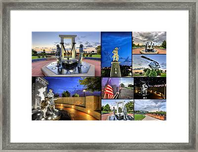 Pensacola Veterans Park Framed Print by JC Findley