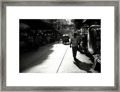 Pensive Framed Print by Cho Me