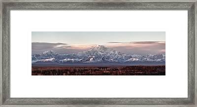 Pensive Framed Print by Ed Boudreau