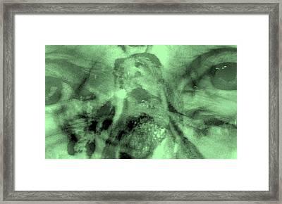Pensive Framed Print by Lessandra Grimley