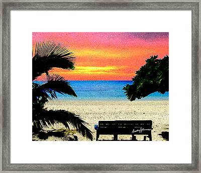 Pensive Place 2 Framed Print by Anthony Caruso