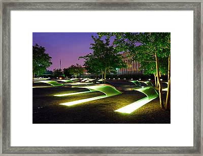 Pentagon 9 11 Memorial Always Remember Framed Print