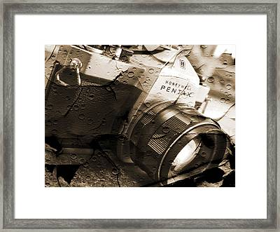 Pentax Spotmatic II Framed Print