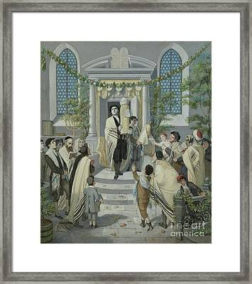 Pentecost Framed Print by Celestial Images