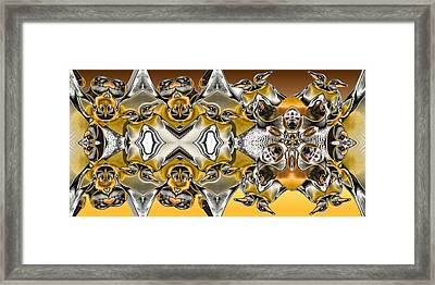 Pentwins Framed Print by Ron Bissett