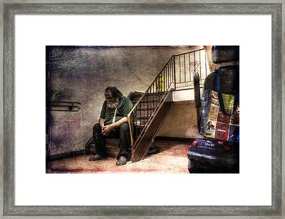 Penury - A Work In Progress Framed Print