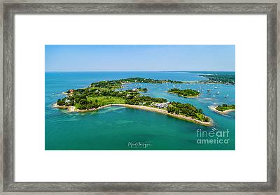 Penzance Point Framed Print