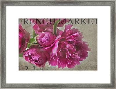 Peonies Framed Print