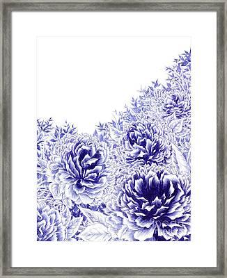 Peony Dream Framed Print
