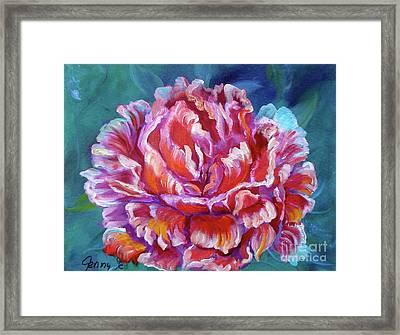 Peony No. 2 Jenny Lee Discount Framed Print