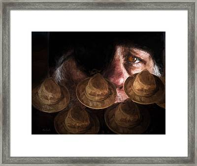 People In The Box Framed Print by Bob Orsillo