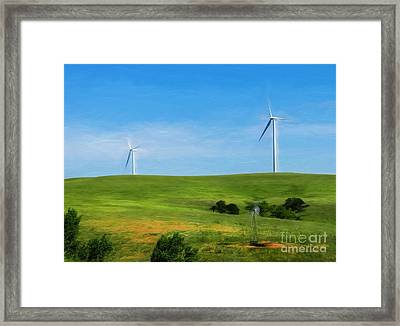 People Of The South Wind Framed Print