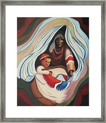 People Of Tibet Framed Print by Suzanne  Marie Leclair