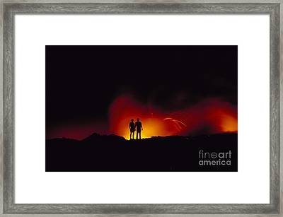 People View Lava Framed Print by Ron Dahlquist - Printscapes