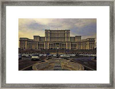 Framed Print featuring the photograph People's Palace by Rob Tullis