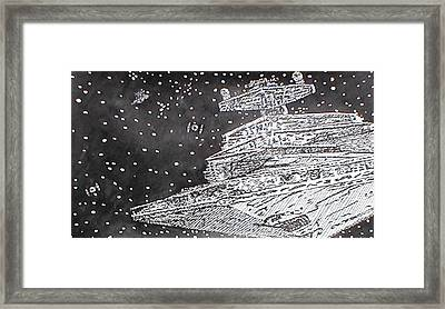 Pepare For Battle Framed Print by Beth Parrish
