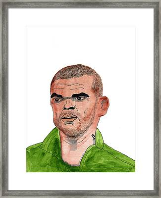 Pepe Framed Print by Ralf Wandschneider