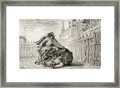 Pepin IIi The Short 714 To 768 With The Framed Print