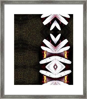 Pepitas Oriental Art Framed Print