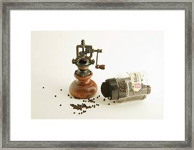 Peppercorns Framed Print by Robert Murray