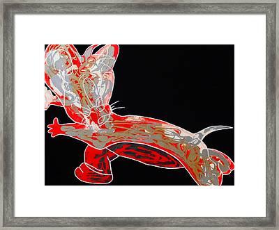 Peppermint Framed Print