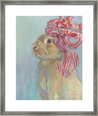 Peppermint Framed Print by Kimberly Santini