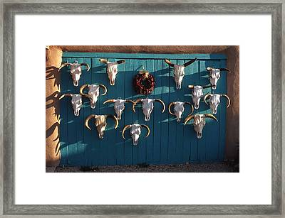 Peppers And Bones Framed Print by Troy Montemayor