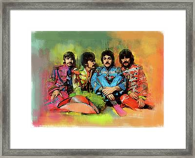 Peppers  The Beatles Framed Print