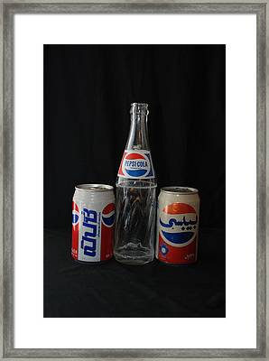 Pepsi Cola Framed Print