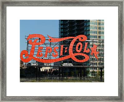 Pepsi-cola Framed Print