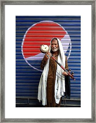 Pepsi Studio Framed Print by Bobby Dar