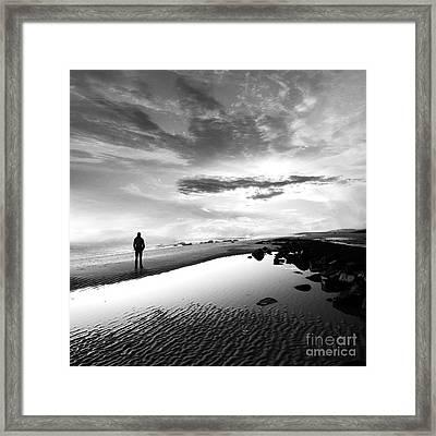 Per Sempre Framed Print