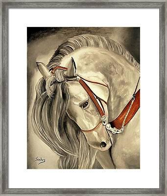Peralta Andalucian Framed Print by Manuel Sanchez