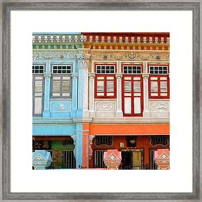 Peranakan Home Framed Print