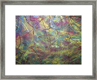 Perceptible Solicitation Framed Print by Paula Andrea Pyle