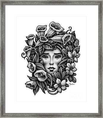 Perception Of Beauty Framed Print by David Fedan
