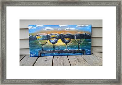 Perception Of Reality  Framed Print