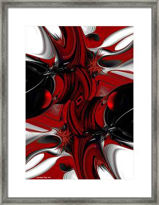 Perceptive Creation Framed Print