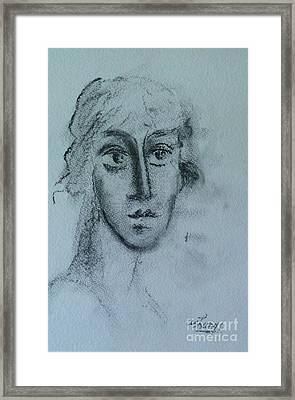 Perceptive Framed Print by Ushangi Kumelashvili