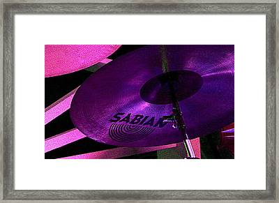 Framed Print featuring the photograph Percussion by Lori Seaman