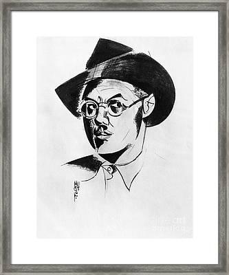 Percy Wyndham Lewis Framed Print by Granger