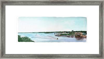 Perdido Key Bay Framed Print