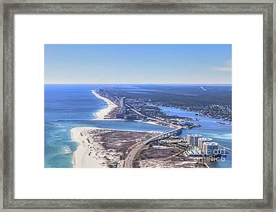 Perdido Pass Bridge 4319 Framed Print