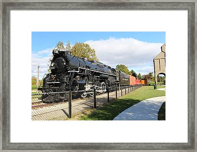 Pere Marquette Framed Print