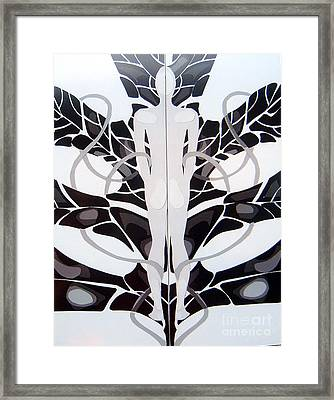 Framed Print featuring the mixed media Perfect Balance by Linda Shackelford
