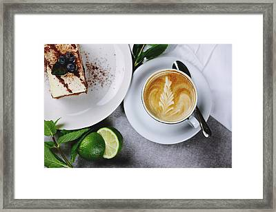 Perfect Breakfast Framed Print by Happy Home Artistry