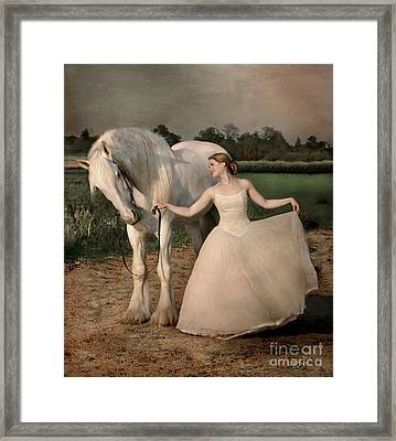 Perfect Dancers Framed Print by Dorota Kudyba
