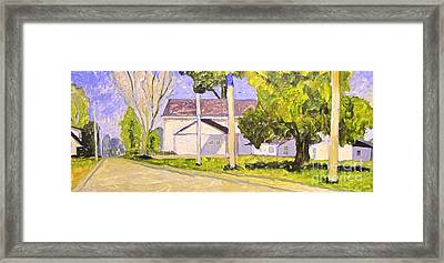 Perfect Day Framed Reworked Framed Print by Charlie Spear