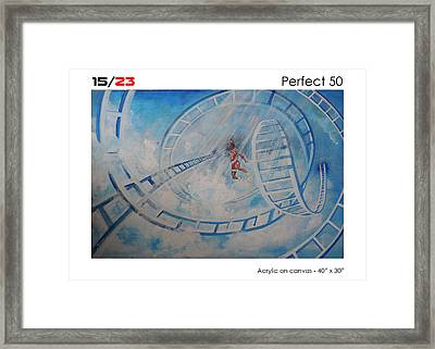 Perfect Fifty Framed Print